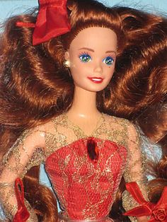 1992 Special Edition Radiant in Red Barbie | eBay
