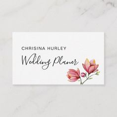Pink and beige floral pastel wedding business card Small Gift Bags, Small Gifts, Dandelion Flower, Seating Chart Wedding, Botanical Flowers, Watercolor Rose, Card Patterns, Small Flowers, Wedding Thank You