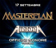Image of Masterplan + Airborn + guests - Live 17 Settembre, prevendita scontata
