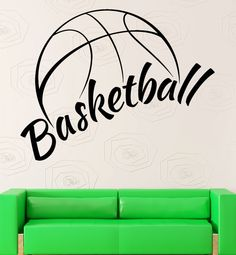 Wall Sticker Vinyl Decal NBA Basketball Ball by Wallstickers4you