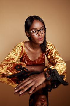 192bd2f4eae6 Women s Eyeglasses - Myrtle Petite in Ebony Granite