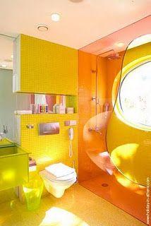 Banheiro Branco Amarelo Mix De Cores Banheiros E Lavabos Pinterest