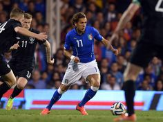 Alessio Cerci of Italy in action during the International Friendly...