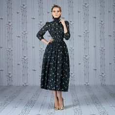 Ulyana Sergeenko dress from Spring - Summer 2014 Capsule Collection