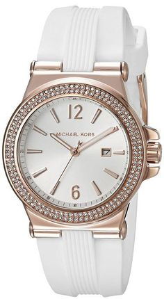 Michael Kors Women's Mini Dylan White Watch