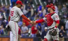 Jeanmar Gomez thrives as the Phillies' closer = Philadelphia Phillies manager Pete Mackanin likes what he's seen this season from closer Jeanmar Gomez.  And why not? The 28-year-old Venezuelan has been outstanding.  He didn't give up a run until his.....