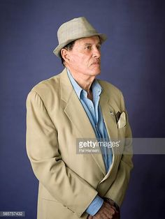 Film maker Kenneth Anger is photographed for the Observer on October 3 2013 in London England
