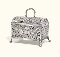 A Dutch silver marriage casket, maker's mark only struck twice, circa 1690 | lot | Sotheby's