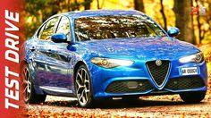 New Alfa Romeo Giulia Veloce 2017 - First Test Drive - ENG ITA SUB