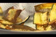 salmão com courgete frita