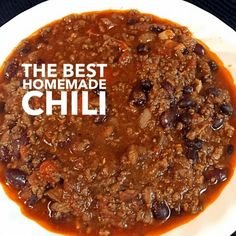 The Best Homemade Chili Recipe Main Dishes with bacon, onions, red bell pepper, green bell pepper, garlic, chili powder, ground cumin, paprika, chipotle, dried oregano, salt, cayenne, ground beef, beer, black beans, red kidney beans, crushed tomatoes, diced tomatoes
