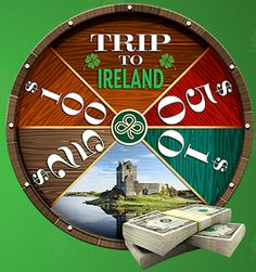 Irish to the Core: Win A VISA Gift Card Instant Win Game