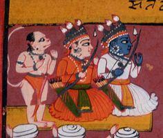 Indian Epics: Images and PDE Epics: Images: Hanuman