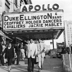 U.S. Duke Ellington at The Apollo, Harlem, NYC, 1930s