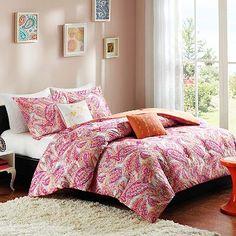 Intelligent Design Anila Comforter Set for sale online Paisley Bedding, Coverlet Bedding, Comforters, Bed Design, House Design, Cosy Bedroom, Bedroom Ideas, Extra Bedroom, Queen Comforter Sets