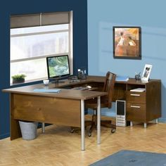 Office on pinterest office organization home offices for Ready to assemble bedroom furniture