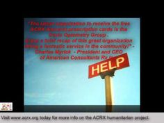 Davis Optometry Group Receive Tribute & Free Prescription Help by Charles Myrick