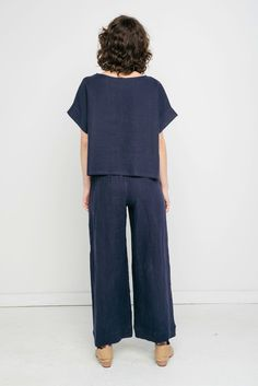 Florence Pant in Linen