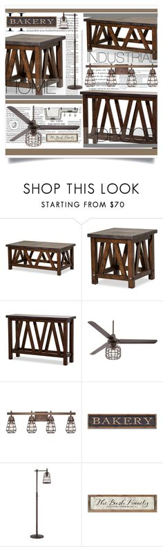 """""""Industrial furniture"""" by bastores ❤ liked on Polyvore featuring interior, interiors, interior design, home, home decor, interior decorating, Michael Amini, Casa Vieja, Franklin Iron Works and modern"""