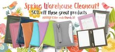 50% off warehouse sale - Get 'em before they're gone!  Add one more task to your spring cleaning checklist: Save at Ministry Ideaz. Yes, once again it's time to clean out the warehouse and our loss is your gain! This means great values for you! But hurry. Limited quantities of most items. First come, first served. No rain checks.  Visit our store to see the entire selection. FREE SHIPPING! Make sure you order $100 or more and benefit from free shipping too! (Free shipping only applies to the…