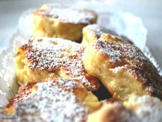 Racuchy na jogurcie:hit ekspresowej kuchnii Polish Desserts, Polish Recipes, Polish Food, Cooking Time, Cooking Recipes, Good Food, Yummy Food, I Foods, Kids Meals