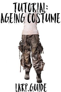 Costume ideas 462744930443398960 - Distressing Costume for Post-Apocalyptic LARP Source by achimaera Costume Tutorial, Cosplay Tutorial, Cosplay Diy, Cosplay Costumes, Max Costume, Pirate Costumes, Zombie Pirate Costume, Post Apocalyptic Costume, Post Apocalyptic Fashion