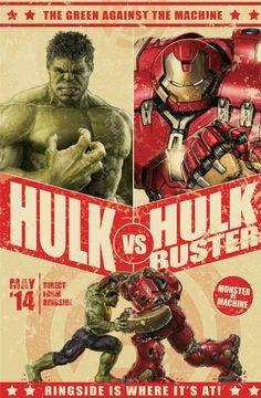 Green against the Machine - Hulk vs. HulkBuster! #Avengers #AgeOfUltron