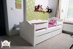 Bonita ágy 80x160cm-es matracméretben fehérre festve