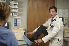 Peter Facinelli as Dr. Coop in Nurse Jackie on Showtime...This is one of the best characters on tv!