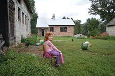 Szefowa Emilka dogląda gospodarki.
