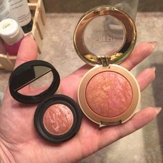 Save almost $20 on this dupe for Laura Mercier's Beauty Baked Blush-N-Brighten! www.bettiesonabudget.tumblr.com