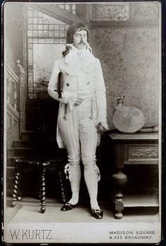 Julian Halstead Kean dressed for the Vanderbilt costume ball, March 26, 1883. Kean danced in the Mother Goose Quadrille at the ball.