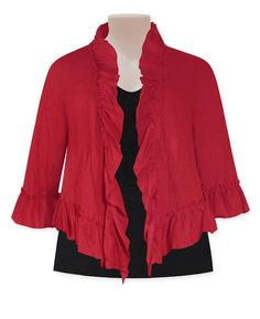 Chocolat - scarlet lauren jacket TOWANDA womenswear - plus size designer fashion boutique women's clothes shop.