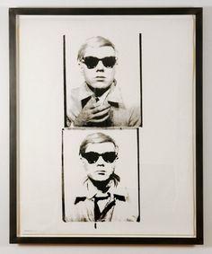 #AndyWarhol  | Self-Portrait with Sunglasses  |   Iconic Blue-Chip #AndyWarhol from Joseph K. Levene Fine Art, Ltd. | #JKLFA