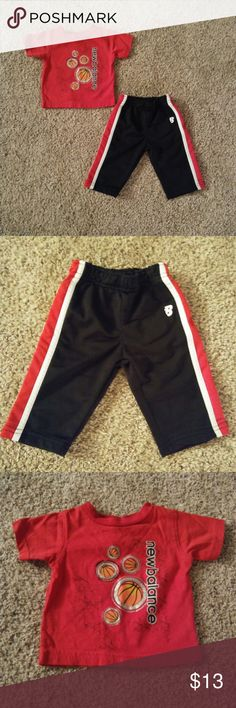 [New Balance] Boys 3-6 Month Matching Outfit EUC  {111} New Balance Matching Sets