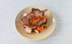 Red Pepper Jelly and Tea Glazed Pork Chops