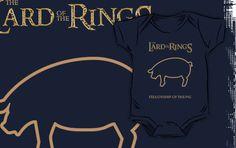 Lard of the Rings onesie by Samuel Sheats