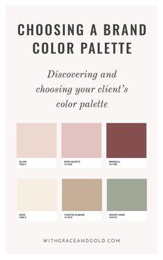 Design: Choosing a Color Palette palette . Brand Design: Choosing a Color Palette palette . -Brand Design: Choosing a Color Palette palette . Web Design Trends, Site Web Design, App Design, Logo Design, Brand Design, Design Color, Palettes Color, Colour Pallette, Colour Schemes