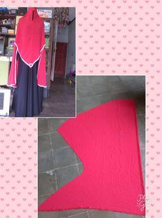 Clothing Patterns, Dress Patterns, Sewing Patterns, Islamic Fashion, Muslim Fashion, Hijab Fashion Summer, Hijab Cartoon, Hijab Tutorial, Islamic Clothing