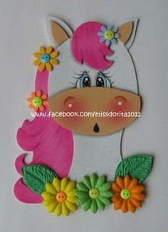 Foam Crafts, Diy And Crafts, Crafts For Kids, Paper Crafts, Unicorn Birthday, Unicorn Party, Kids Adirondack Chair, Kids Punch, Paper Punch Art