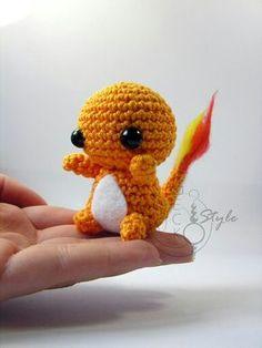 Pokémon salamèche en tricot