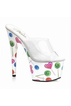 Motif | Spurst.com #lollipop #lollipopheels #heels #candy #candyheels #7inch #stiletto #stilettoheel #platform #motif #printedheels #shoes #trendy #trendyshoes #stylishheels #dancewear #dancer #danceshoes #spurst