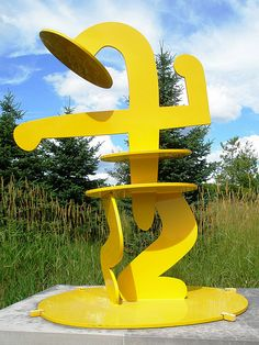 Keith Haring 1987 'Julia', Frederick Meijer Sculpture Park, Grand Rapids, Michigan by hanneorla, via Flickr