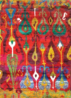 Rugsville New Ethos Sari silk rug collection made from recycled sari silk