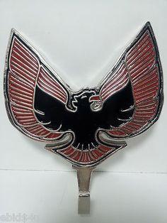 PONTIAC FIREBIRD Emblem Wall Coat Hat Key Hook