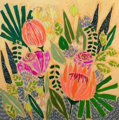 Lulie Wallace   Pattern in Landscapes and Flowers print pattern