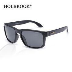 4abc571fbe16 Retro Unisex Sunglasses Men Women Brand Designer Real Polarized UV400 lens  Square Sun glasses for Sports Fishing driver Outdoor