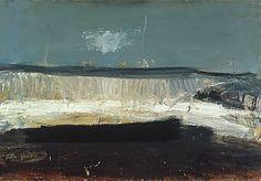 Joan Eardley's 'A Sense of Place' at Scottish National Gallery, Edinburgh Abstract Landscape, Landscape Paintings, Sea Paintings, Klimt, Gallery Of Modern Art, Glasgow School Of Art, Sense Of Place, Art Uk, The Guardian