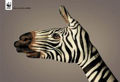 WWF Advertising | Give a hand to wildlife