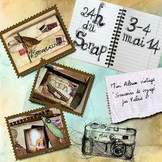 Money Clip, Mini Albums, Scrap, Vintage, Atelier, Minis, Tat, Vintage Comics, Mini Scrapbooks